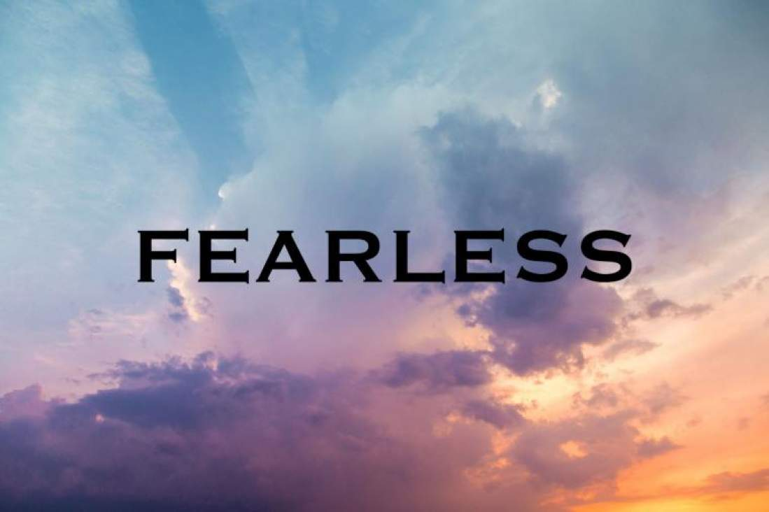 """To be courageous is to see the possibilities when fear is in your face."" Gabriel Lindstrom"